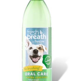 Tropiclean Manufacturing TropiClean Dog Fresh Breath Water Additive