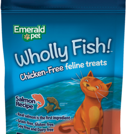 Emerald Pet Products Emerald Pet Cat Wholly Fish! Salmon 3 oz