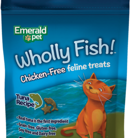 Emerald Pet Products Emerald Pet Cat Wholly Fish! Tuna 3 oz