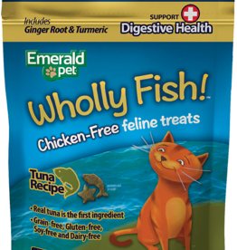 Emerald Pet Products Emerald Pet Cat Wholly Fish! Tuna Plus Digestive Health 3 oz