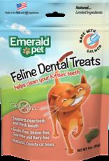Emerald Pet Products Emerald Pet Cat Dental Treats Salmon 3 oz