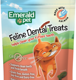 Emerald Pet Products Emerald Pet Cat Dental Treats Salmon 3 oz