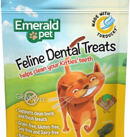 Emerald Pet Products Emerald Pet Cat Dental Treats Turducky 3 oz