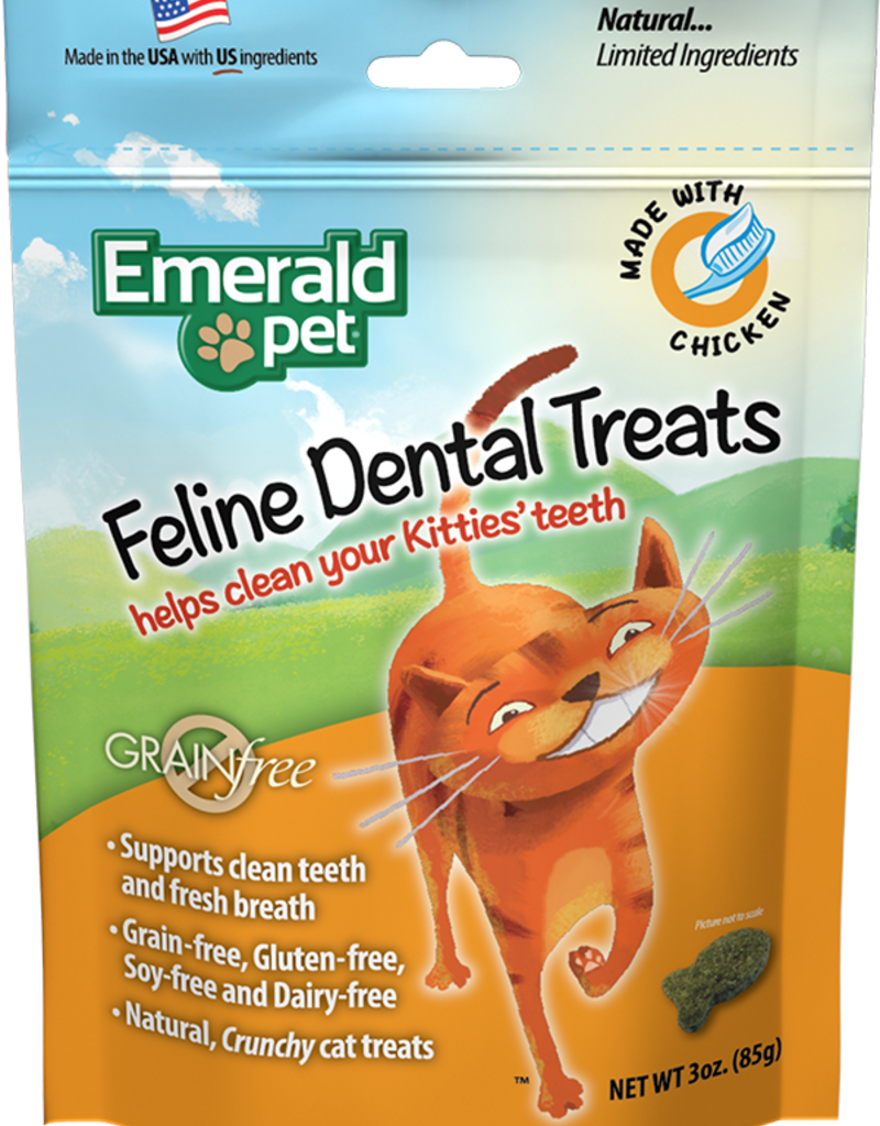 Emerald Pet Products Emerald Pet Cat Dental Treats Chicken