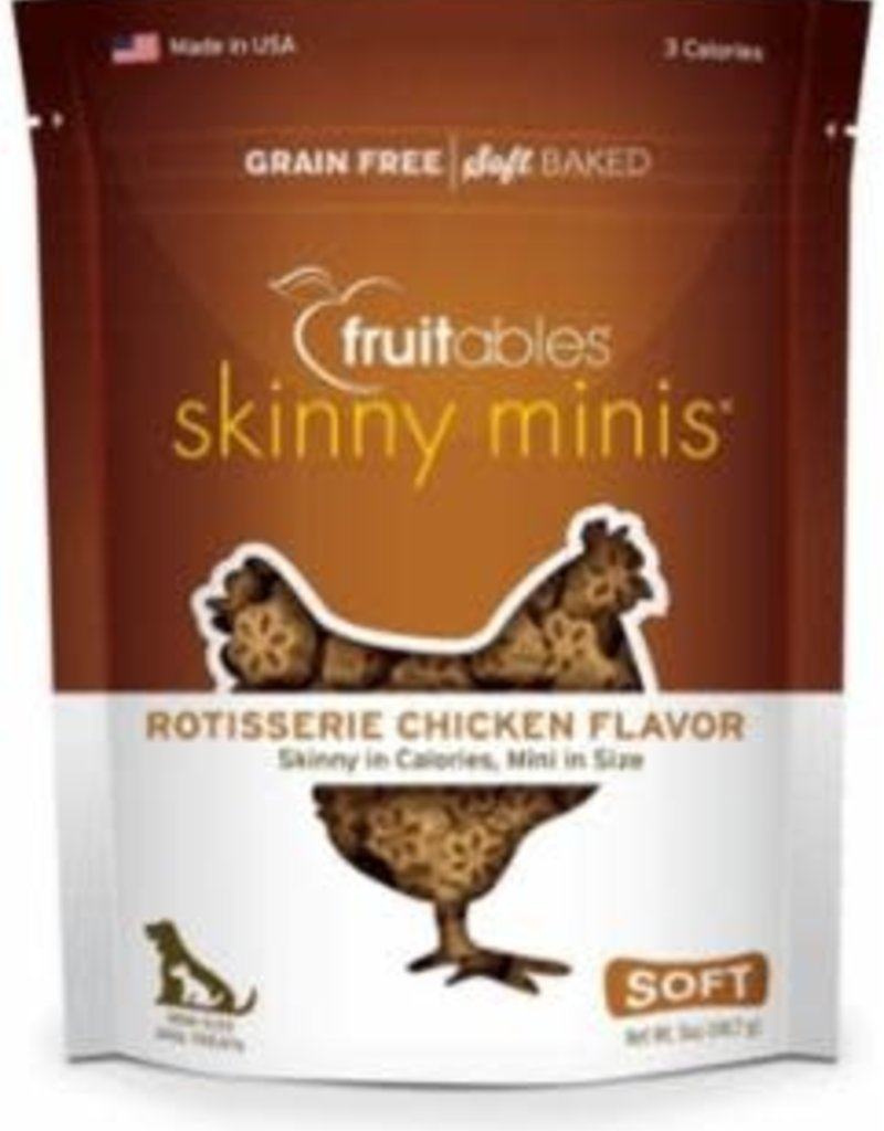 Fruitables Fruitables Skinny Minis Rotisserie Chicken Flavor Chewy Dog Treats