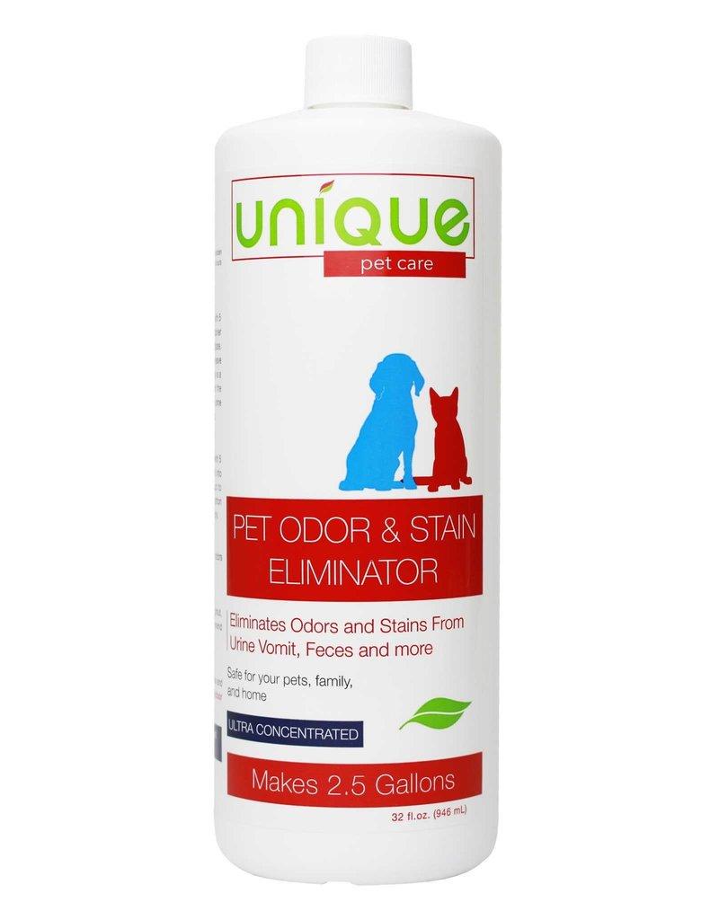 Unique Natural Pet Products Unique Pet Oder & Stain Eliminator Ultra Con 32oz