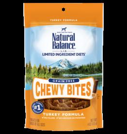 Natural Balance Pet Foods, Inc. Natural Balance Dog Chewy Bites Turkey 4 oz