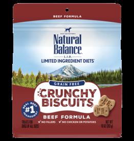 Natural Balance Pet Foods, Inc. Natural Balance Dog Crunchy Biscuit Beef 10 oz