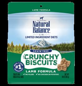 Natural Balance Pet Foods, Inc. Natural Balance Dog Crunchy Biscuit Lamb 10 oz