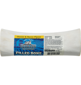 Redbarn Pet Products RedBarn Dog Chew Filled Bone Cheese & Bacon Flavor