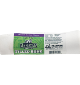 Redbarn Pet Products RedBarn Dog Chew Filled Bone Natural Peanut Butter