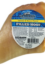 Redbarn Pet Products RedBarn Dog Chew Filled Hooves Cheese & Bacon Flavor