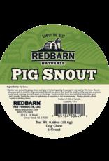 Redbarn Pet Products RedBarn Dog Chew Pig Snout