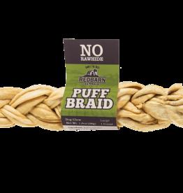 Redbarn Pet Products RedBarn Dog Chew Puff Braid