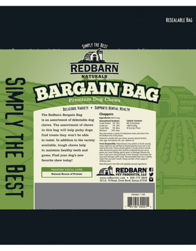Redbarn Pet Products RedBarn Dog Treat Natural Bargain Bag 2 lb.