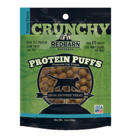 Redbarn Pet Products RedBarn Cat Treat Protein Puffs Turkey 1 oz
