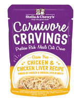 Stella & Chewys Stella & Chewy's Cat Can Carnivore Cravings Chicken and Chicken Liver 2.8 oz