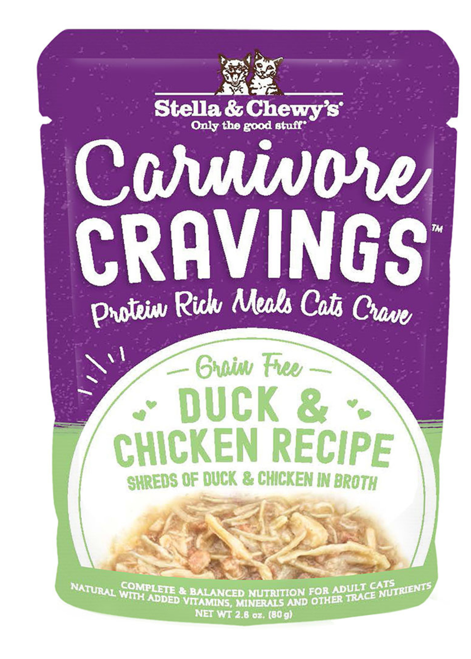 Stella & Chewys Stella & Chewy's Cat Can Carnivore Cravings Chicken and Duck 2.8 oz