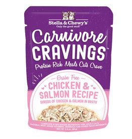Stella & Chewys Stella & Chewy's Cat Can Carnivore Cravings Chicken and Salmon 2.8 oz