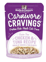 Stella & Chewys Stella & Chewy's Cat Can Carnivore Cravings Chicken and Tuna 2.8 oz