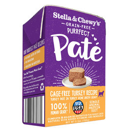 Stella & Chewys Stella & Chewy's Cat Can Purrfect Pate Turkey 5.5 oz