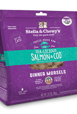 Stella & Chewys Stella & Chewy's Cat Freeze Dried Morsels Salmon and Cod 8 oz