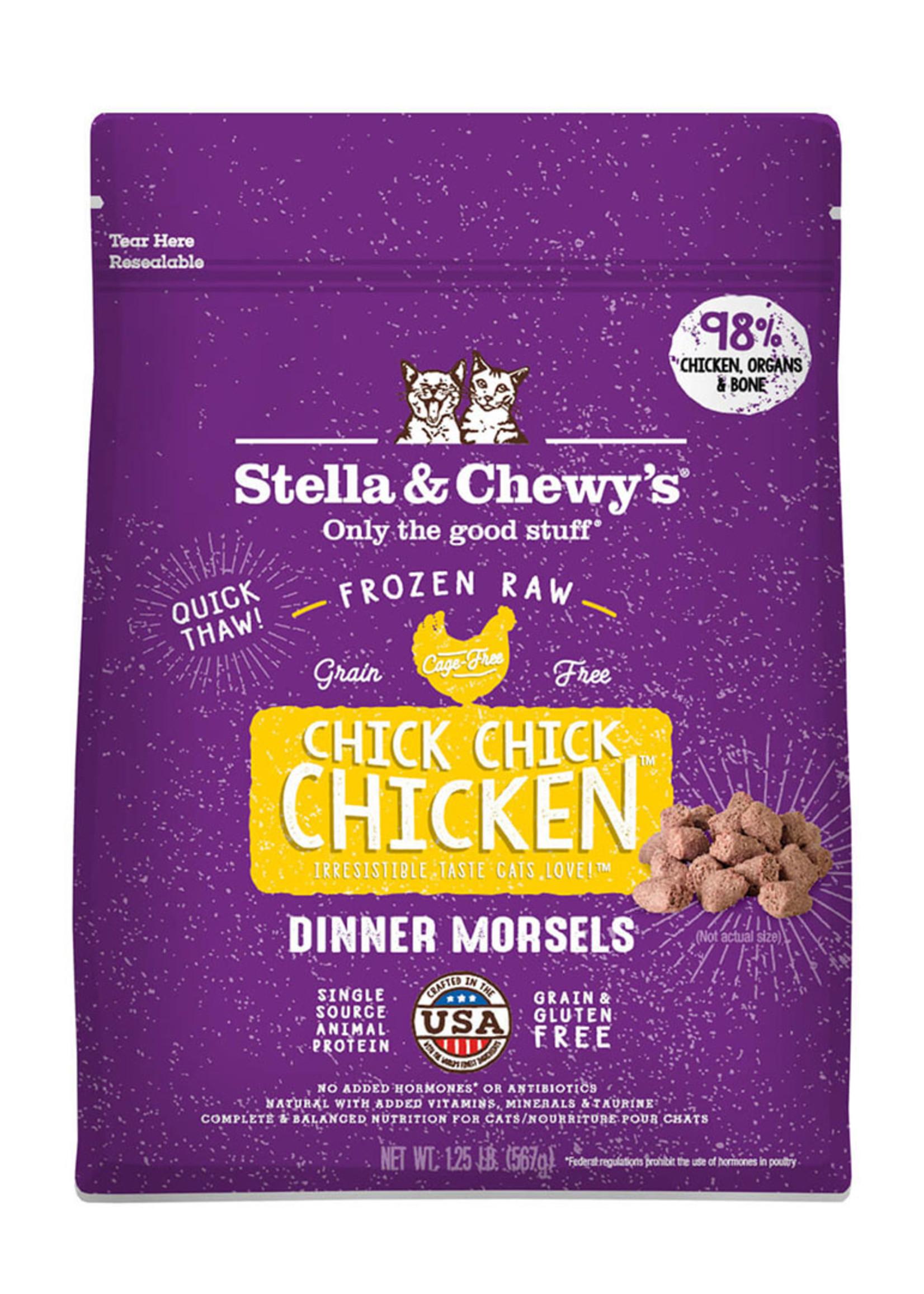 Stella & Chewys Stella & Chewy's Cat Frozen Morsels Chicken