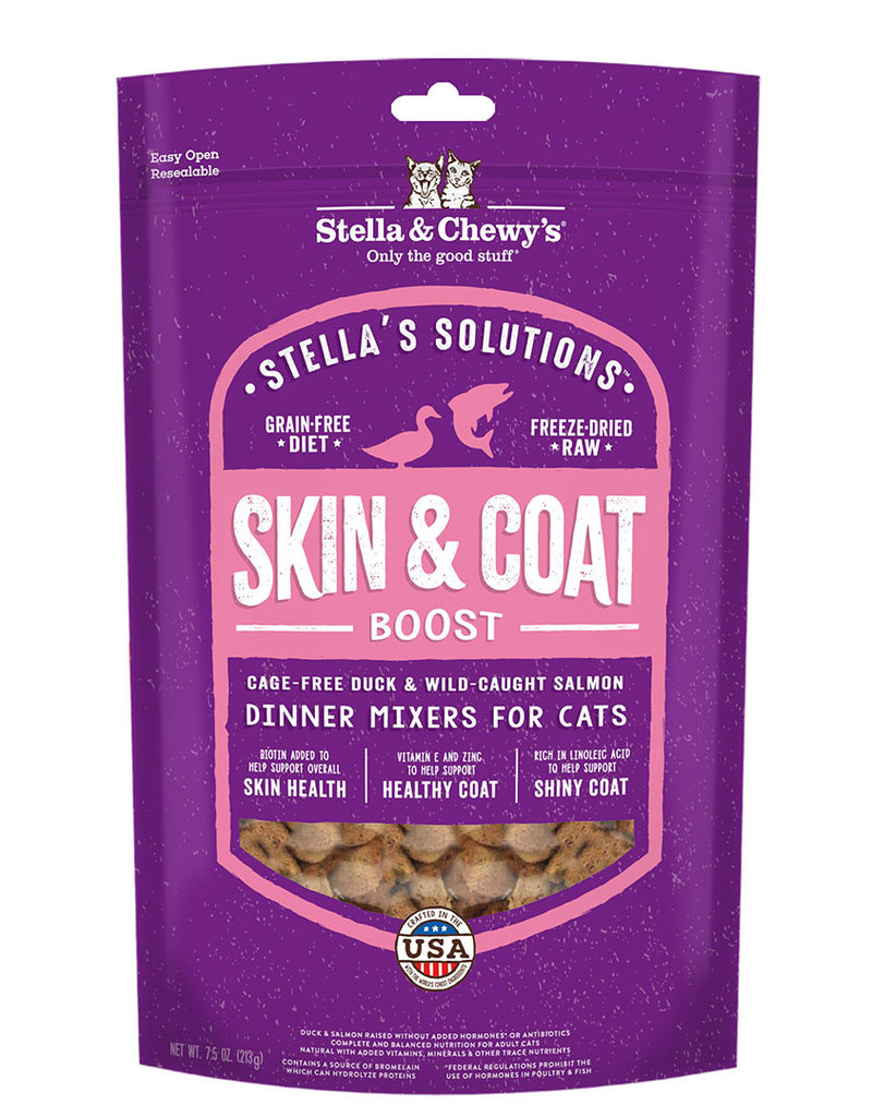 Stella & Chewys Stella & Chewy's Cat Topper Skin/Coat Boost Duck and Salmon 7.5 oz