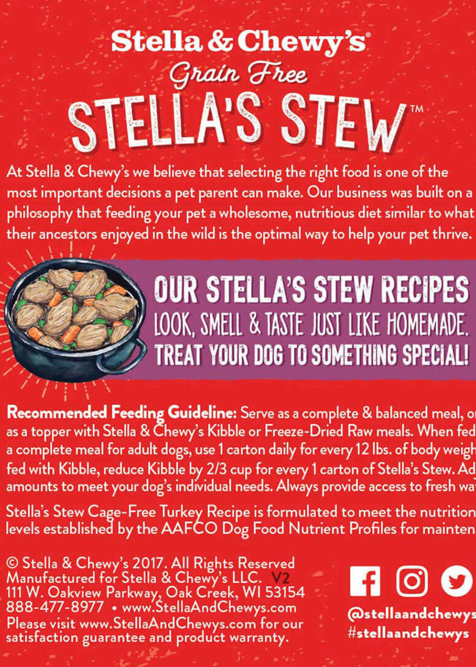 Stella & Chewys Stella & Chewy's Dog Can Stella's Stews Turkey 11 oz