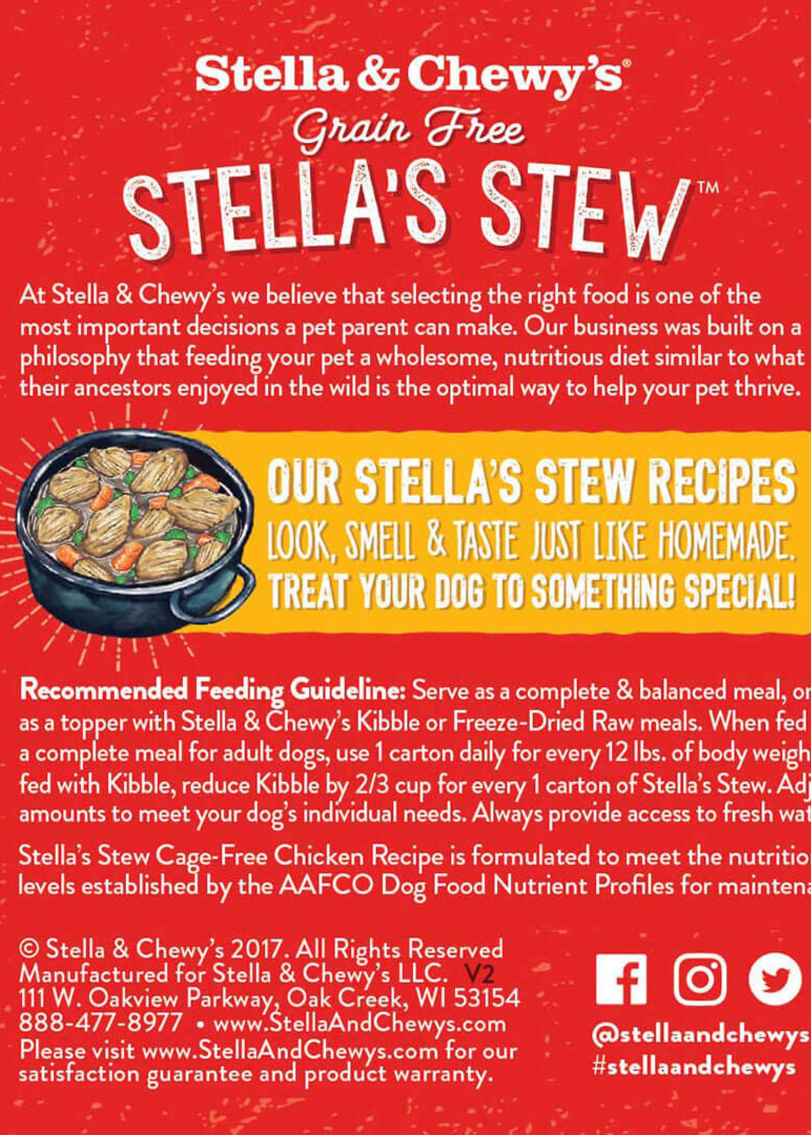 Stella & Chewys Stella & Chewy's Dog Can Stella's Stews Chicken 11 oz