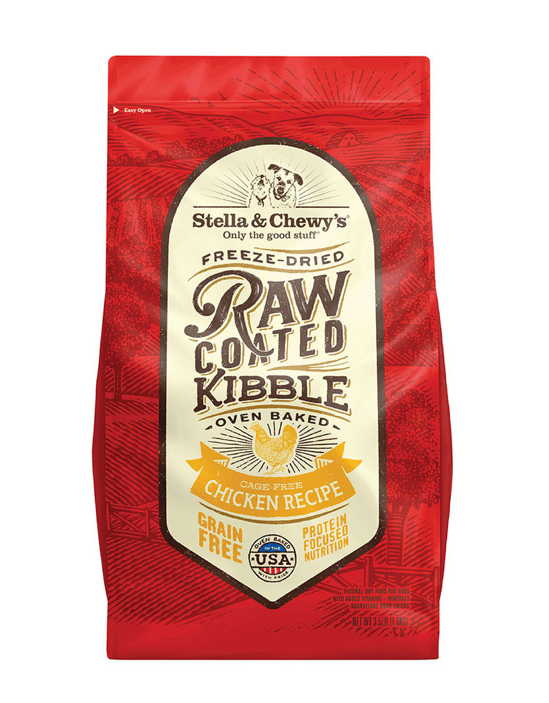 Stella & Chewys Stella & Chewy's Dog Dry Raw Coated Kibble Chicken