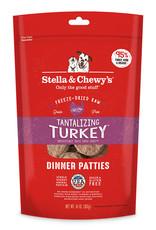 Stella & Chewys Stella & Chewy's Dog Freeze Dried Patties Turkey 14 oz