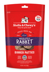 Stella & Chewys Stella & Chewy's Dog Freeze Dried Patties Rabbit