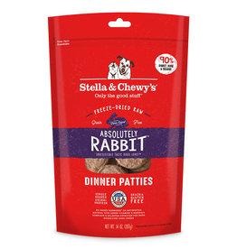 Stella & Chewys Stella & Chewy's Dog Freeze Dried Patties Rabbit