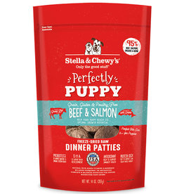 Stella & Chewys Stella & Chewy's Dog Freeze Dried Patties Puppy Beef and Salmon 5.5 oz