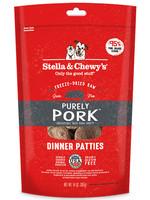 Stella & Chewys Stella & Chewy's Dog Freeze Dried Patties Pork 14 oz