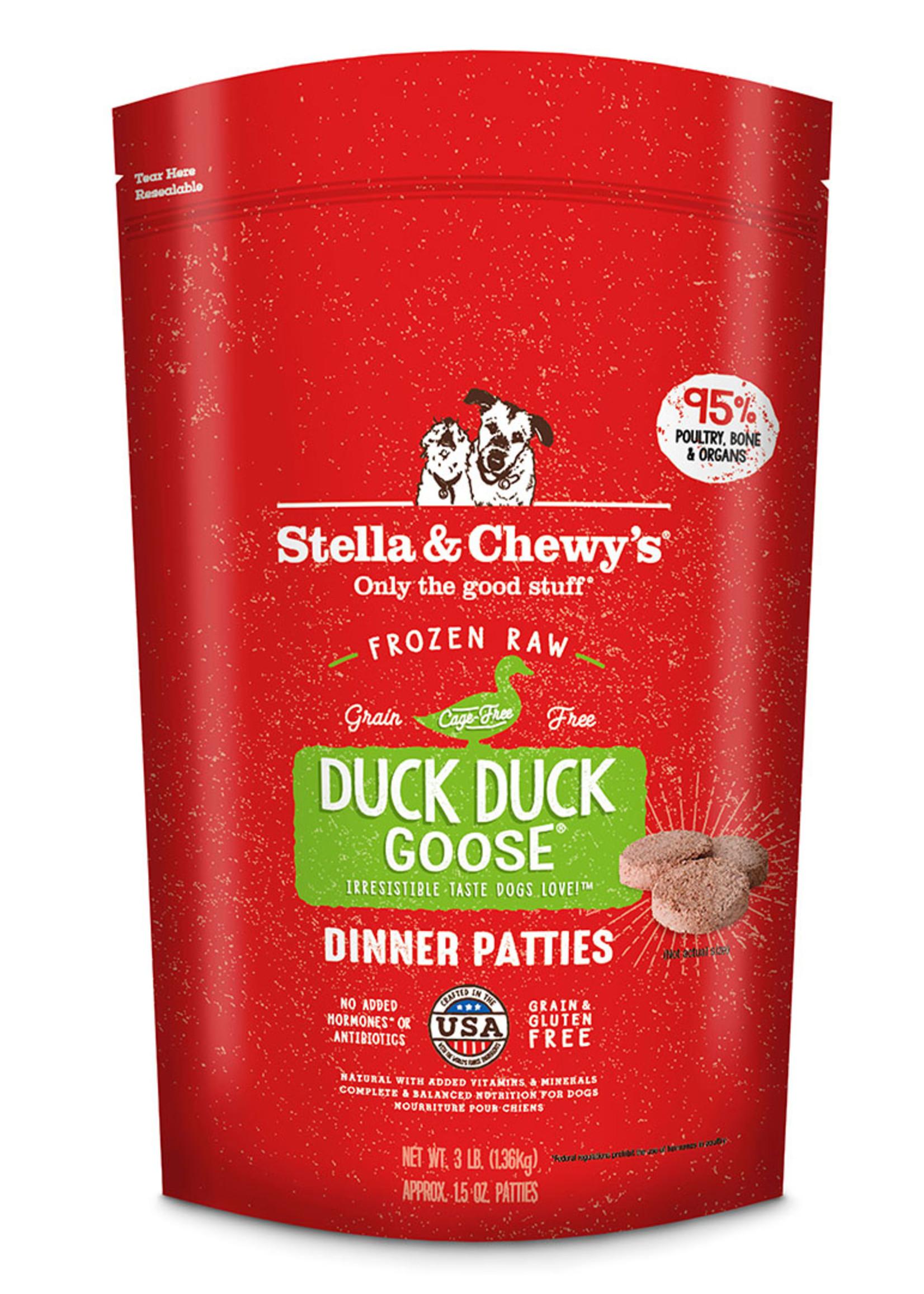 Stella & Chewys Stella & Chewy's Dog Frozen Patties Duck