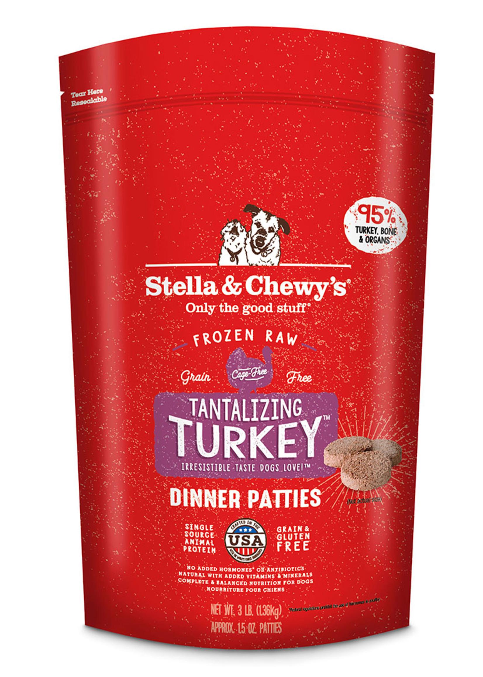 Stella & Chewys Stella & Chewy's Dog Frozen Patties Turkey 6 lbs