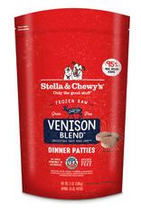 Stella & Chewys Stella & Chewy's Dog Frozen Patties Venison 6 lbs