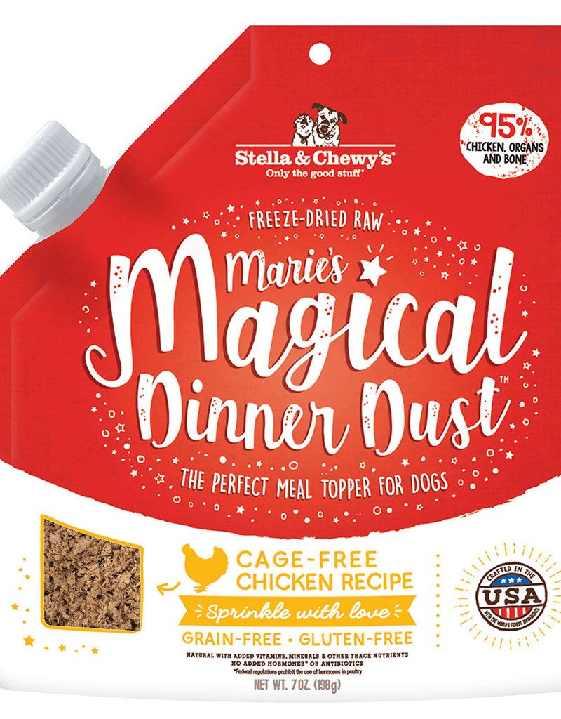 Stella & Chewys Stella & Chewy's Dog Topper Marie's Magical Dinner Dust Chicken 7 oz