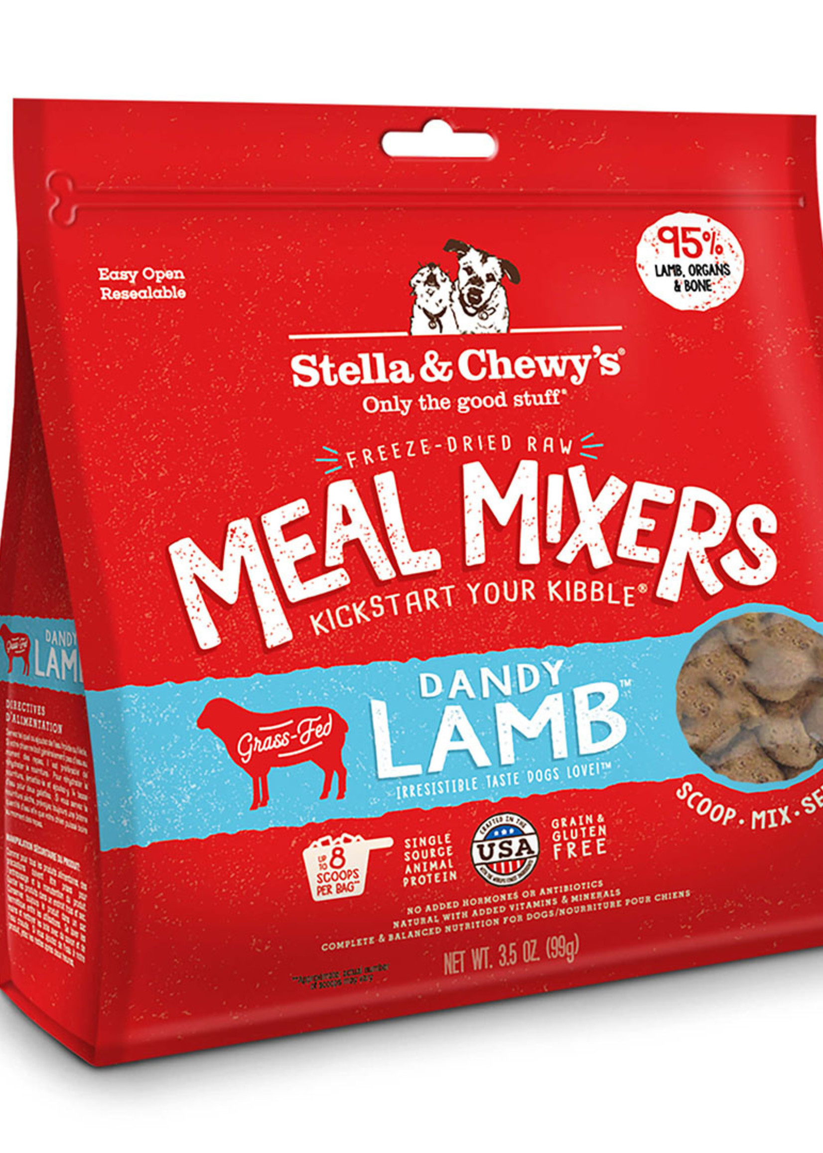 Stella & Chewys Stella & Chewy's Dog Topper Meal Mixer Lamb
