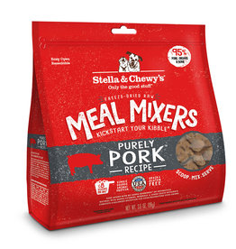 Stella & Chewys Stella & Chewy's Dog Topper Meal Mixer Pork 18 oz