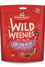 Stella & Chewys Stella & Chewy's Dog Treat Wild Weenies Game Bird 3.25 oz
