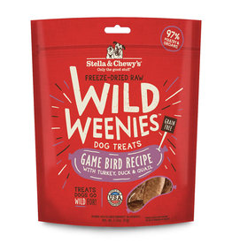 Stella & Chewys Stella & Chewy's Dog Treat Wild Weenies Game Bird 3.25 oz