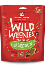 Stella & Chewys Stella & Chewy's Dog Treat Wild Weenies Duck 3.25 oz
