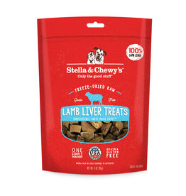 Stella & Chewys Stella & Chewy's Dog Treat Single Ingredient Lamb Liver 3 oz