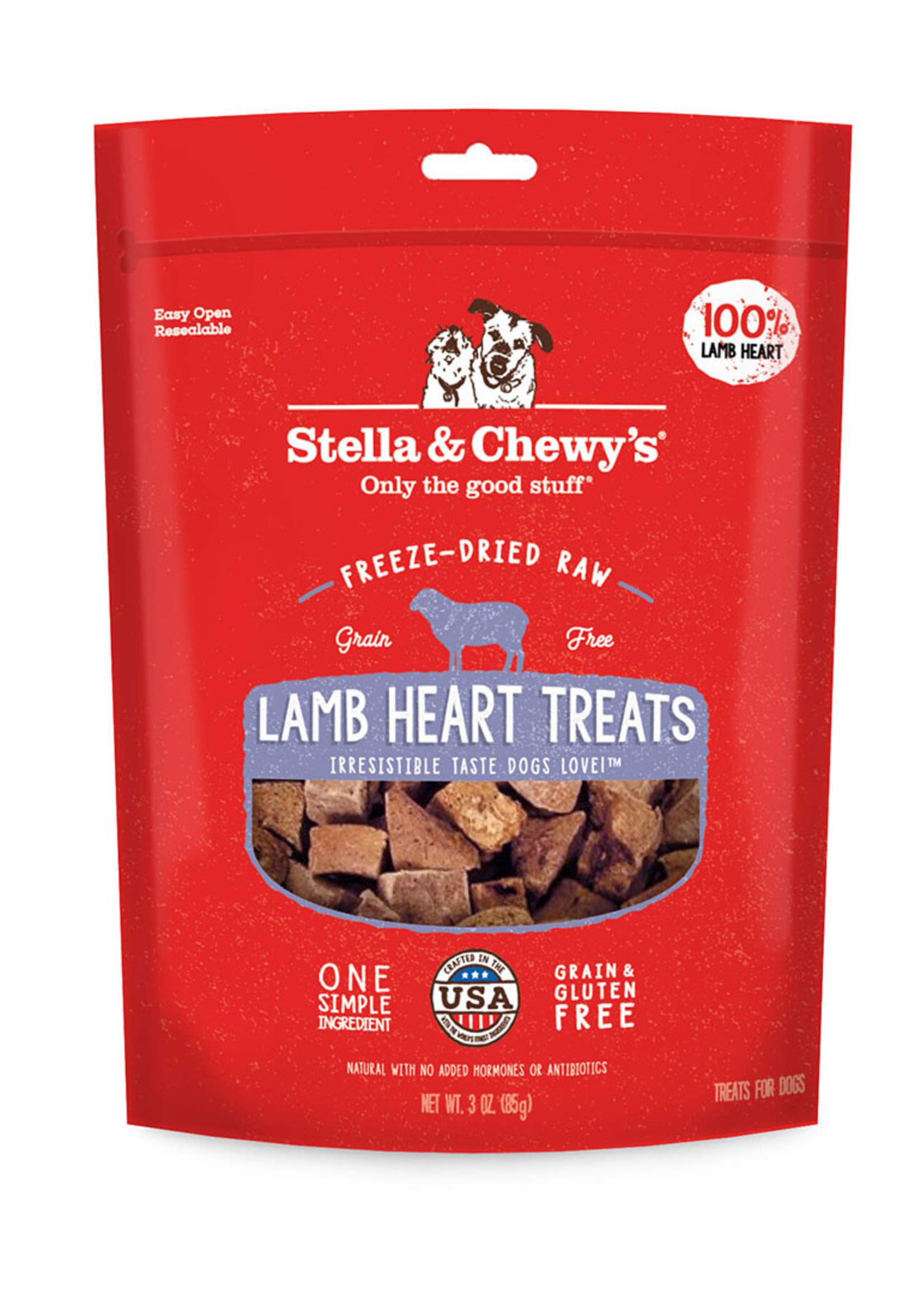 Stella & Chewys Stella & Chewy's Dog Treat Single Ingredient Lamb Heart 3 oz