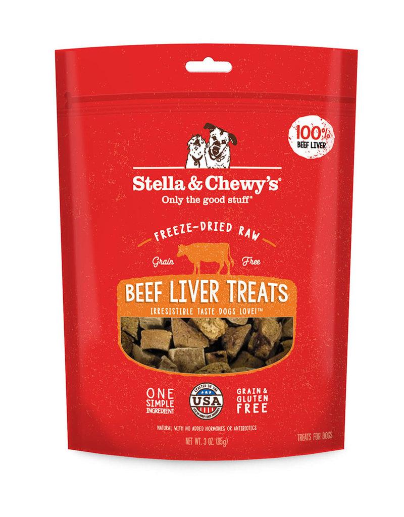 Stella & Chewys Stella & Chewy's Dog Treat Single Ingredient Beef Liver 3 oz