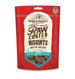 Stella & Chewys Stella & Chewy's Dog Treat Raw Coated Biscuits Lamb 9 oz