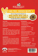 Stella & Chewys Stella & Chewy's Dog Treat Raw Coated Biscuits Chicken 9 oz